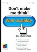 Steve Krug: Don't make me think! - Web Usability