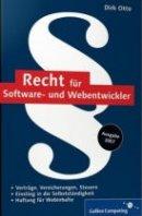 Dirk Otto: Recht für Software- und Webentwickler
