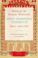 Klaartje de Zwarte-Walvisch: Mein geheimes Tagebuch März - Juli 1943