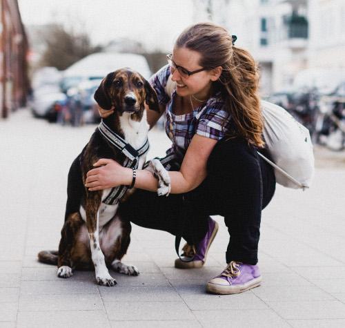 Claudia Renner mit Finn