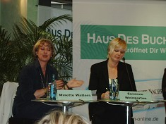 Lesung Minette Walters / Mo Hayder